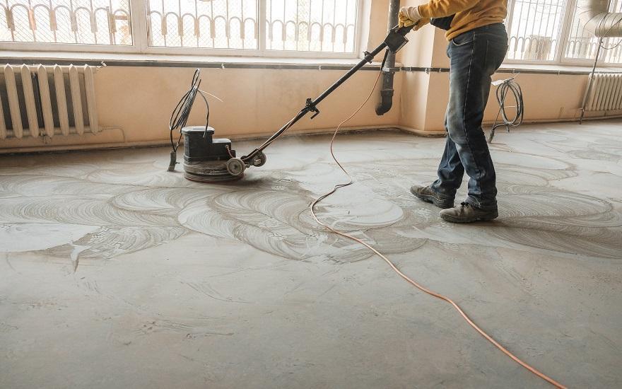 Naprawy posadzki betonowej
