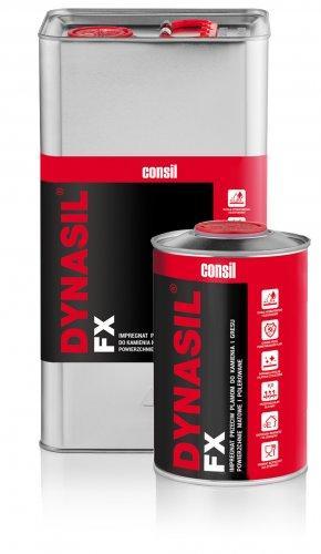 Dynasil_FX - do impregnacji polerowanych, szlifowanych oraz nieobrobionych materiałów takich jak kamienie naturalne,  płytki gresowe, beton i ceramika.