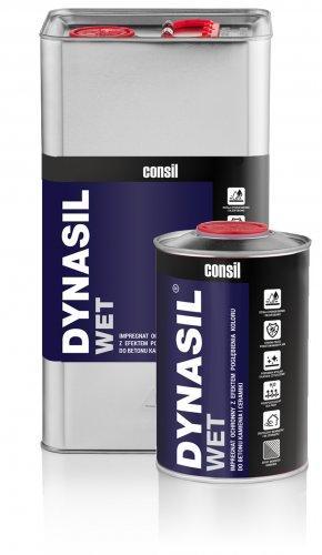 Dynasil_WET - jest przeznaczony do impregnacji ochronnej z równoczesnym pogłębieniem kolorystyki głównie kamieni naturalnych, materiałów ceramicznych i galanterii betonowej.